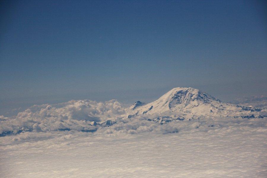 Mt Rainier Cascade Mountains Seattle