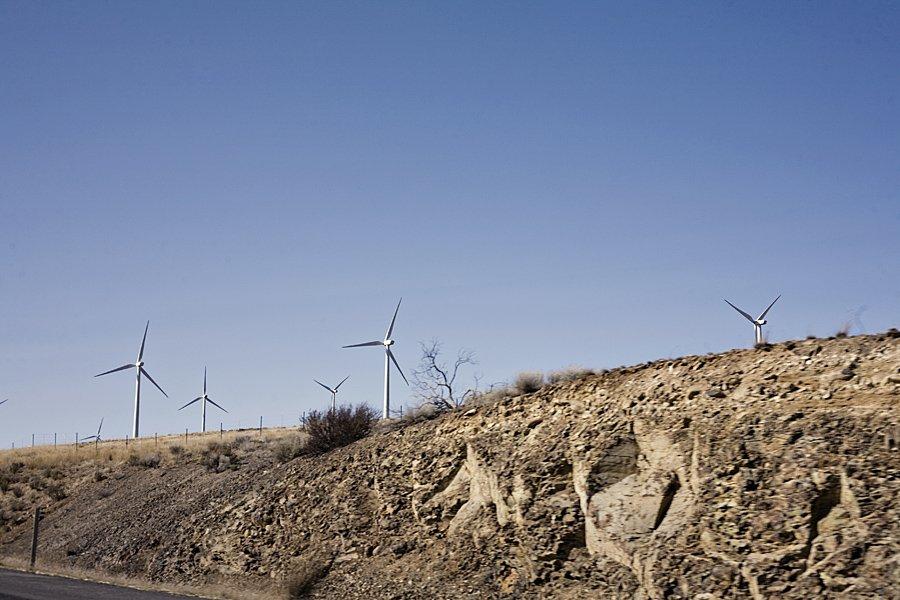 windmills in Ellensburg WA