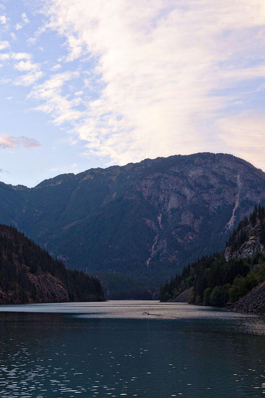 North Cascade Highway 20 Diablo Lake