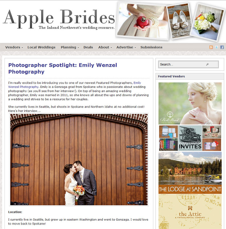 Apple Brides Screen shot