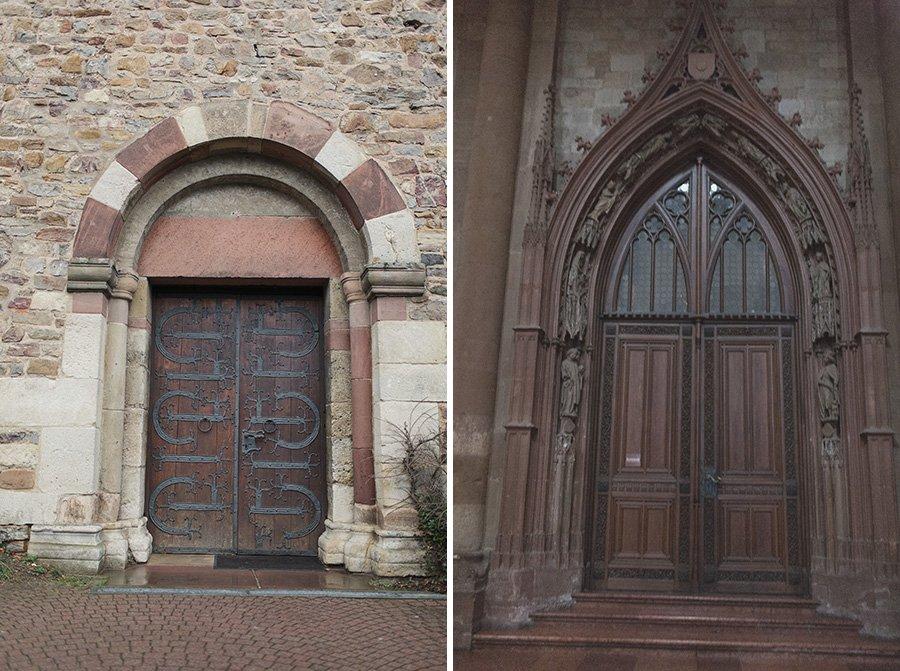 Rheingau Church Doors