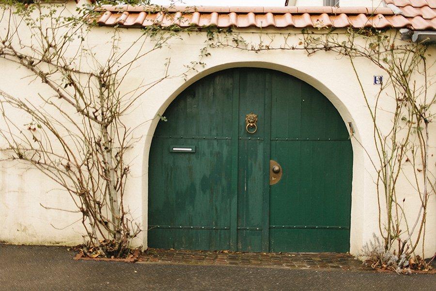 Rheingau Vineyard Doors