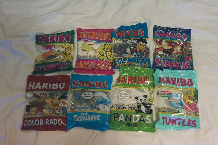 Haribo Candy Bonn Factory Store