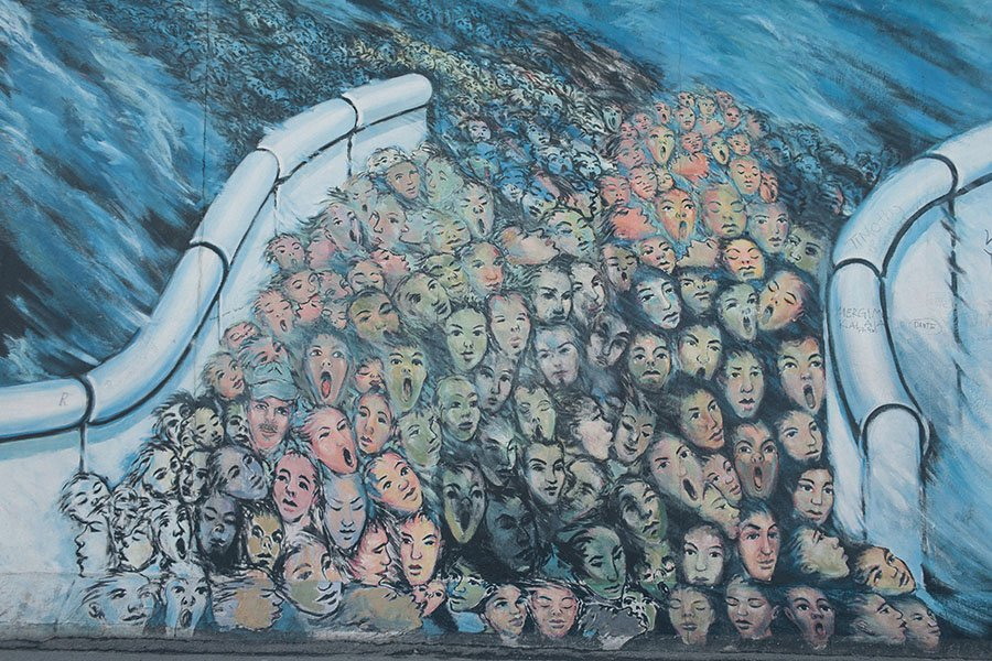 Berlin Wall Eastside Gallery Art