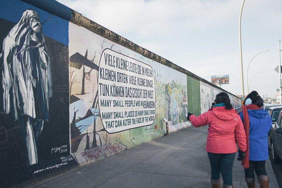 Berlin Wall Eastside Gallery Art