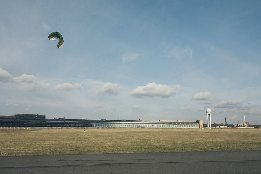 Berlin Tempelhof Airport Field