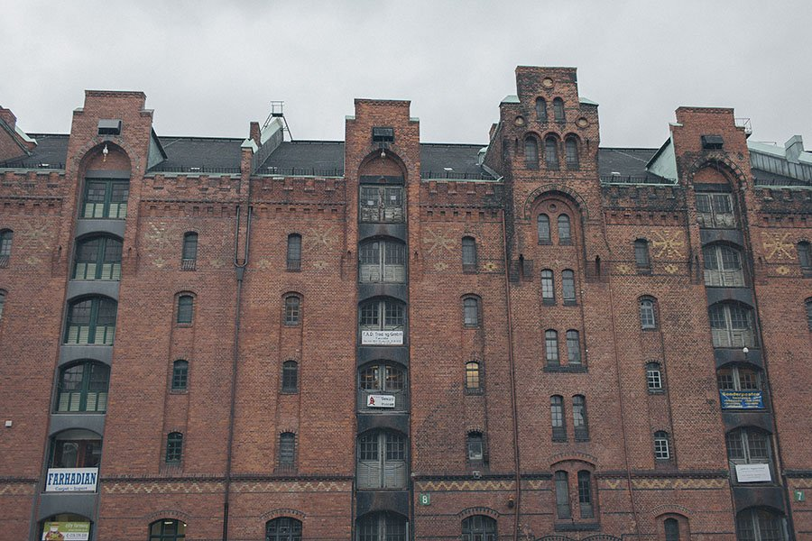 Hamburg Germany in Winter