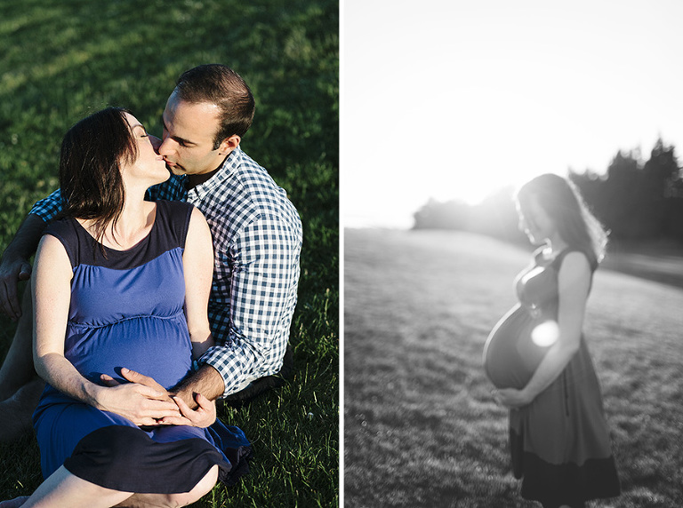 Gasworks Park Maternity Session