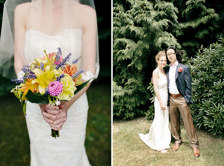 Vashon Island Backyard Wedding Photography