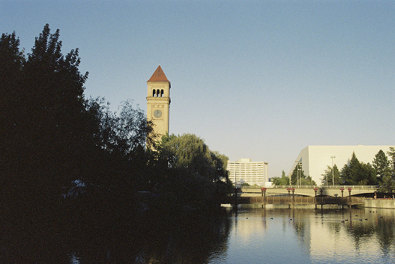 Downtown Spokane on Film // Emily Wenzel Photography
