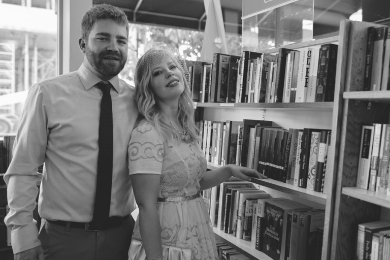 Aunties Bookstore Spokane // Emily Wenzel Photography