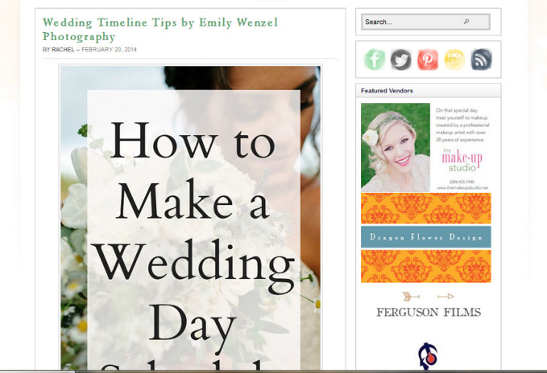 Featured Post on Applebrides