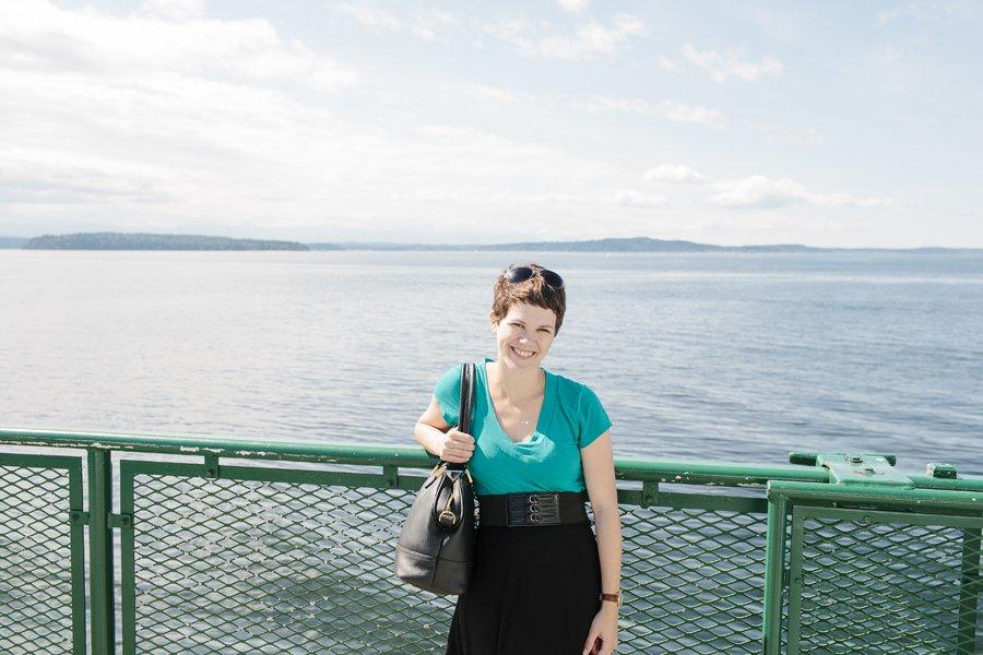 Vashon Island Ferry // Emily Wenzel Photography