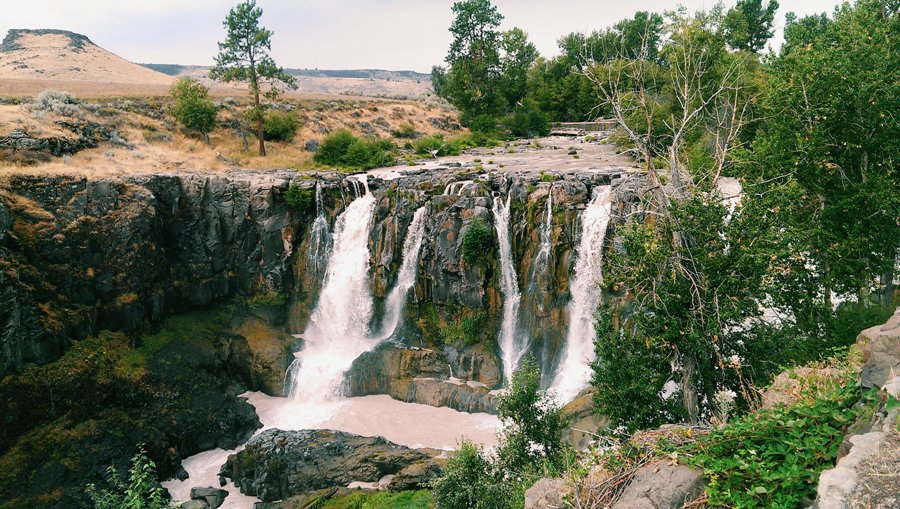 White River Falls State Park // Emily Wenzel Photography