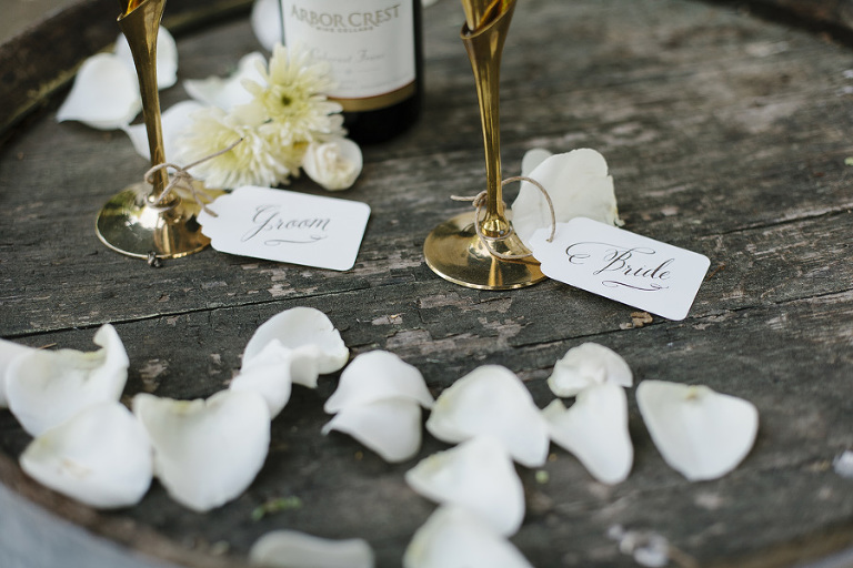 Whimsical Woodland Wedding // Emily Wenzel Photography