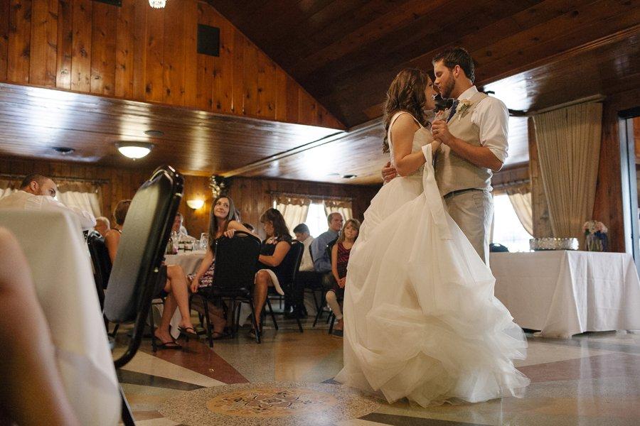 Daytime Wedding Reception // Emily Wenzel Photography