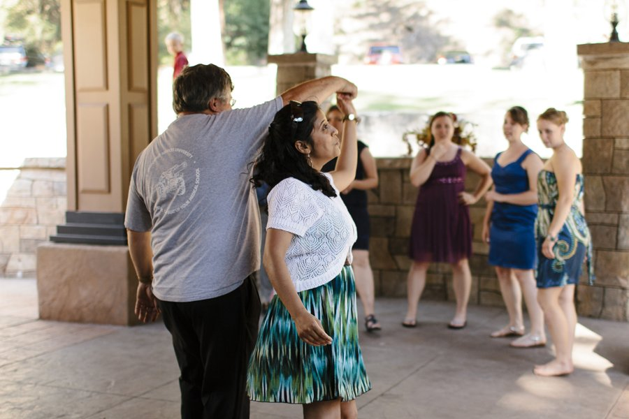Daytime Wedding Reception // Emily Wenzel Photography