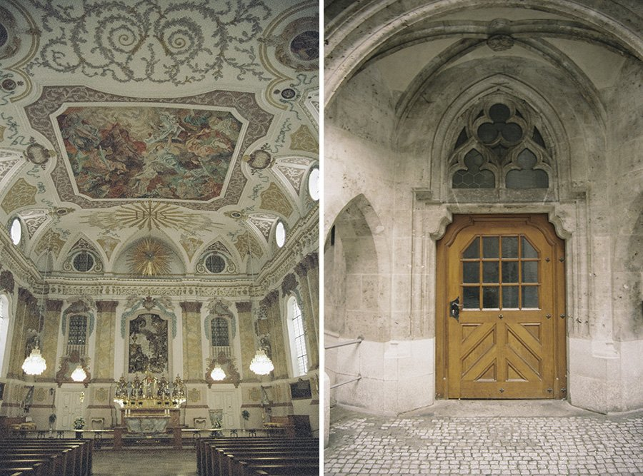 Jesuit Church in Munich // Emily Wenzel Photography