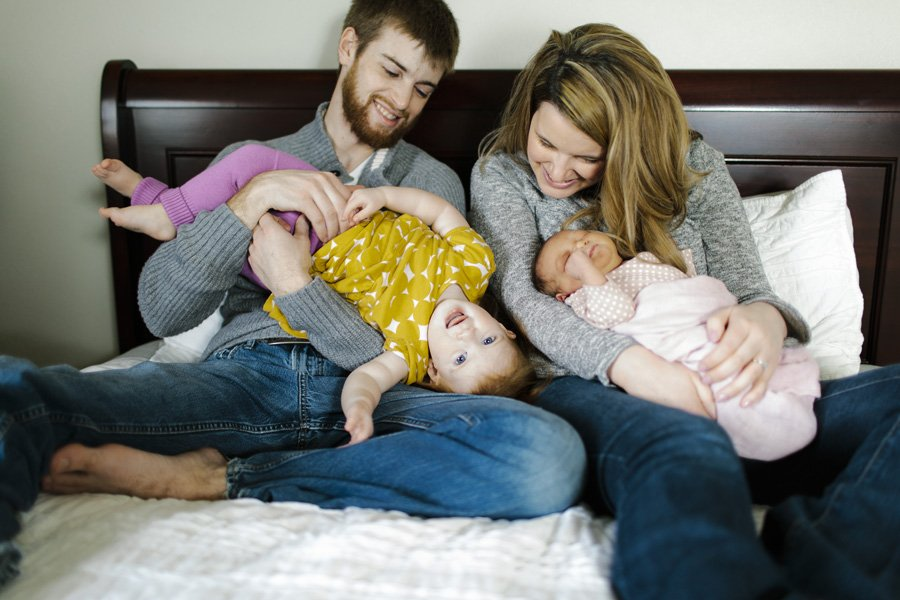 Spokane Newborn Photographer // Emily Wenzel Photography