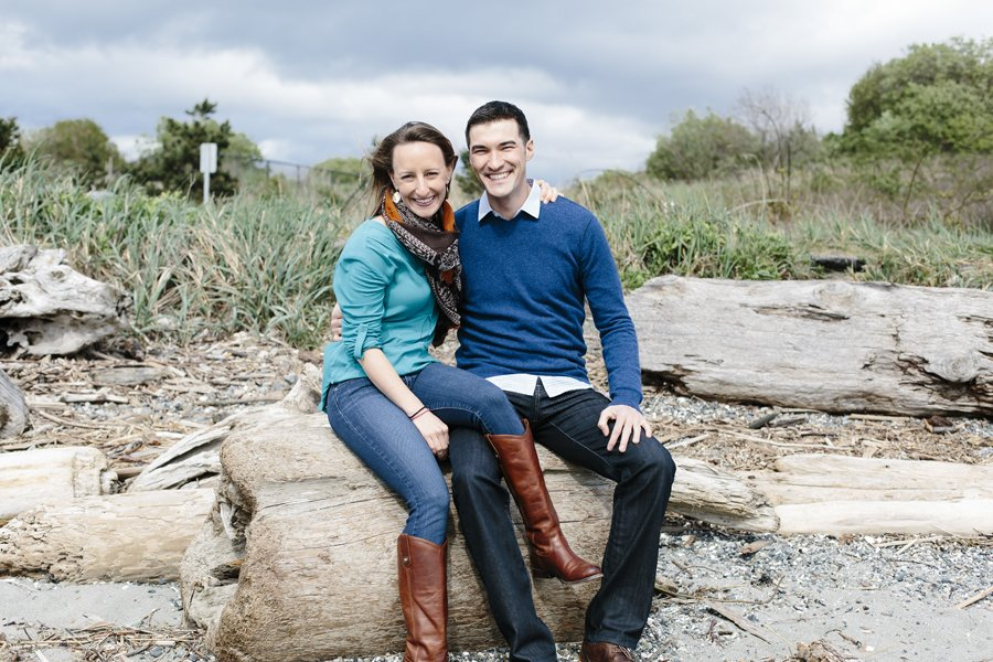 Discovery Park Engagement // Emily Wenzel Photography