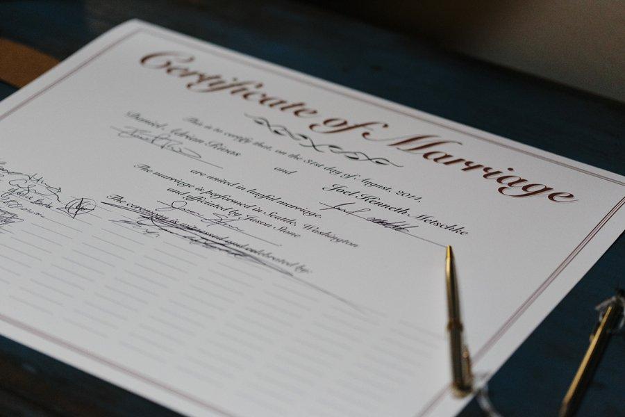 Seattle Same Sex Wedding // Emily Wenzel Photography