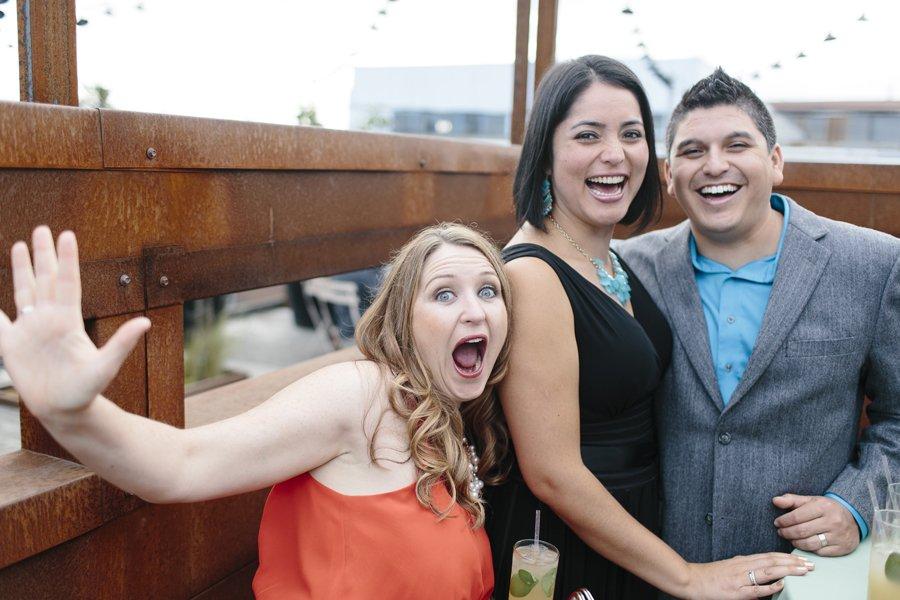 Rooftop Wedding Seattle // Emily Wenzel Photography