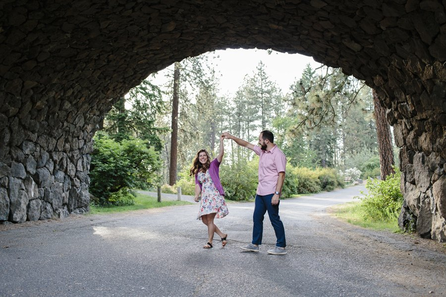Manito Park Engagement Session // Emily Wenzel Photography