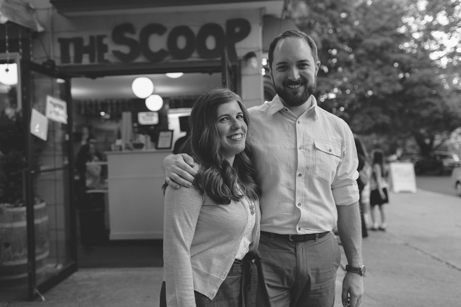The Scoop Engagement Session // Emily Wenzel Photography