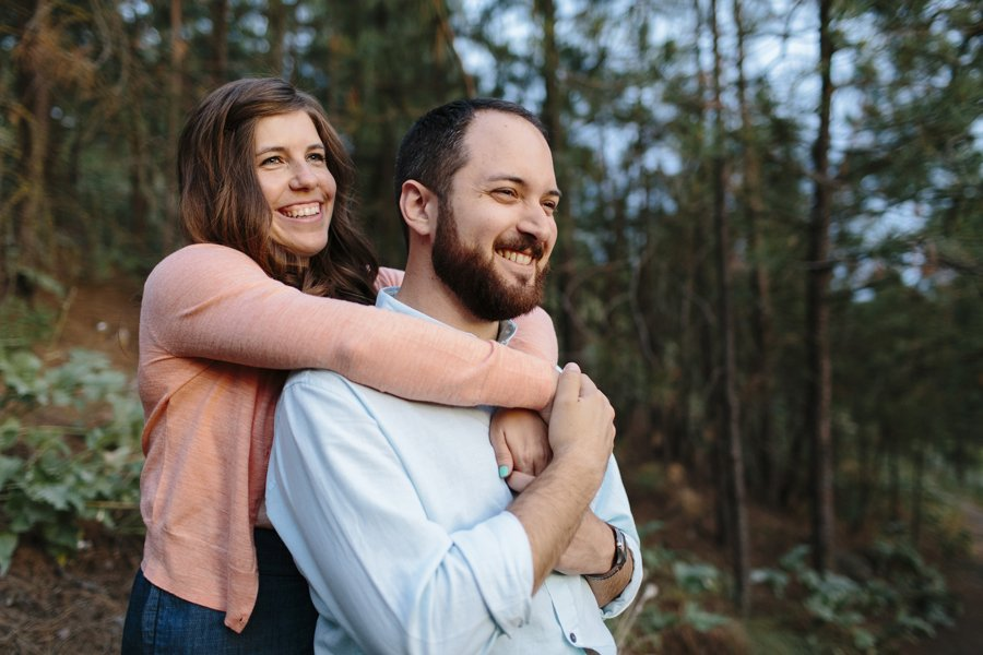 South Hill Spokane Engagement Session // Emily Wenzel Photography
