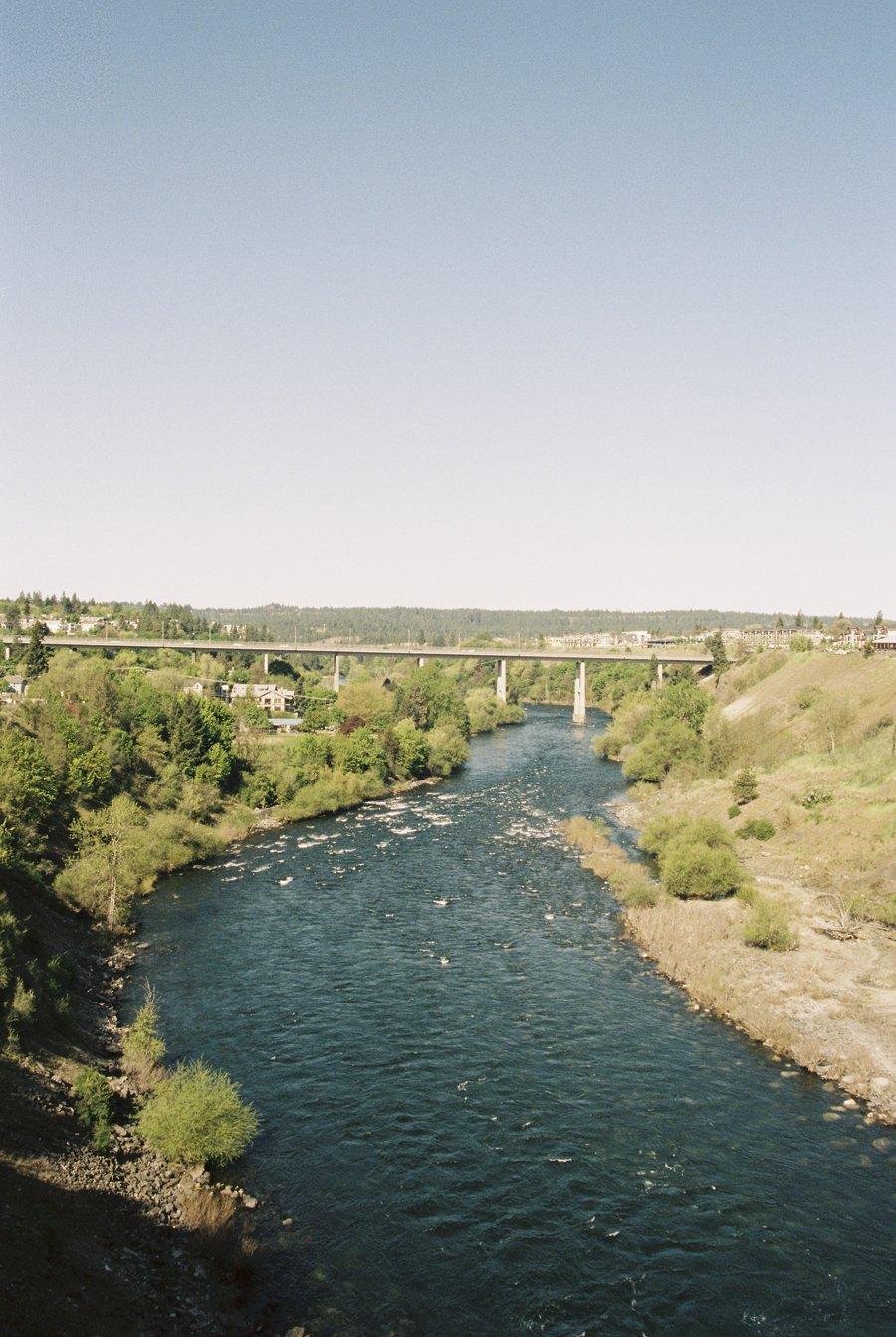 Spokane River // Emily Wenzel Photography