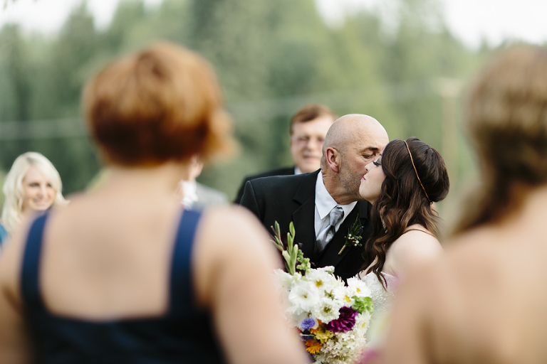 Sandpoint Backyard Wedding // Emily Wenzel Photography