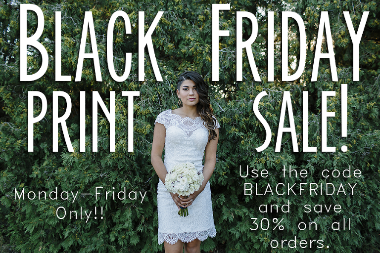 Black Friday Print Sale // Emily Wenzel Photography