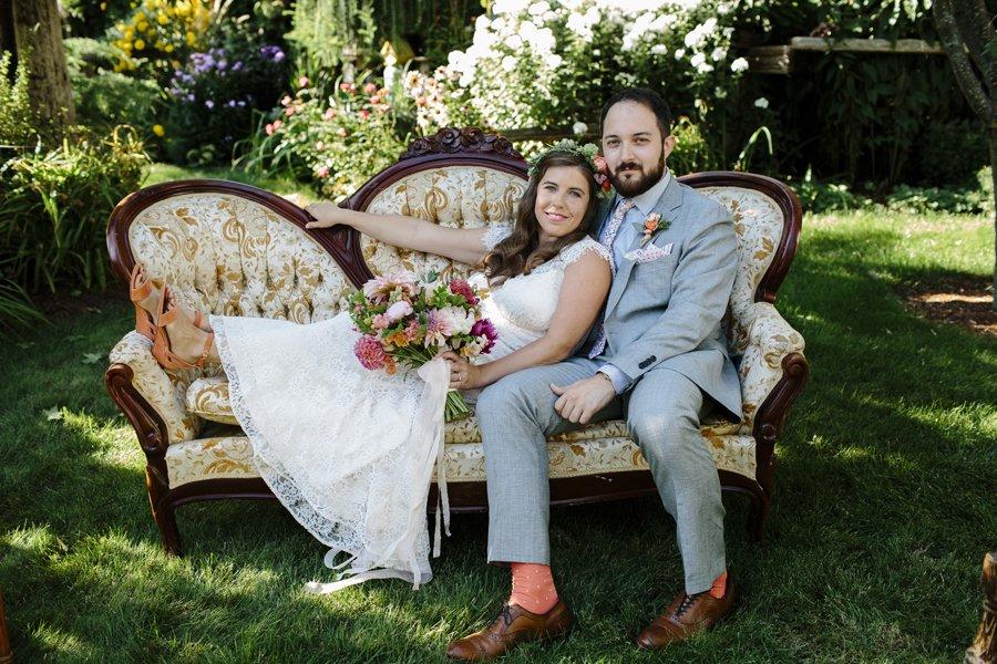 Garden Wedding // Emily Wenzel Photography