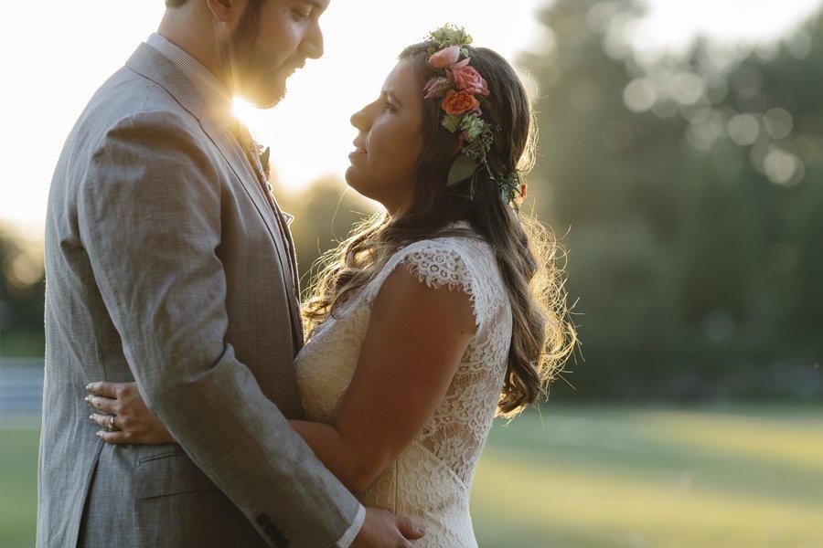 Backyard Wedding // Emily Wenzel Photography