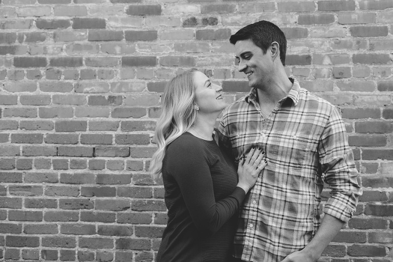 Winter Engagement Session // Emily Wenzel Photography