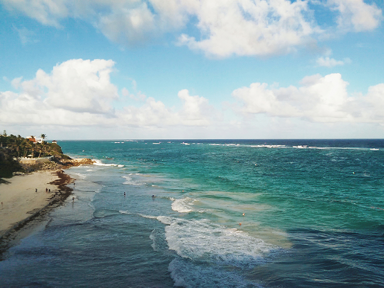 Emily Wenzel Photography // Barbados Crane Beach