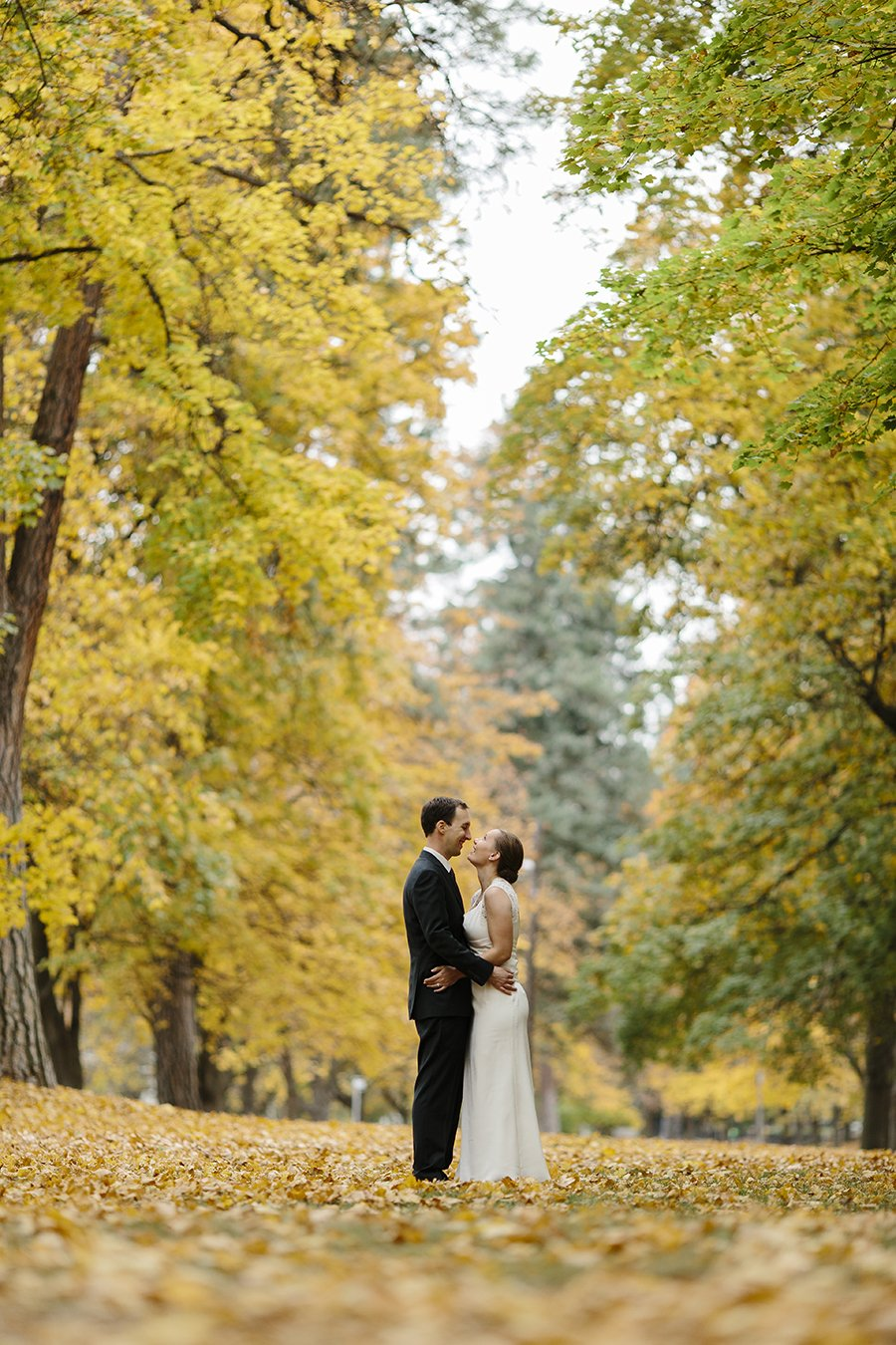 Fall Wedding Spokane // Emily Wenzel Photography