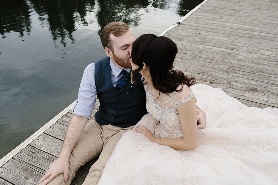 Lake Coeur d'Alene Wedding // Emily Wenzel Photography