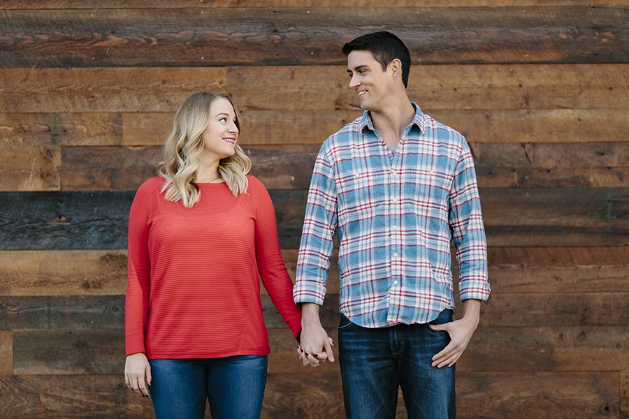 Winter Engagement // Emily Wenzel Photography