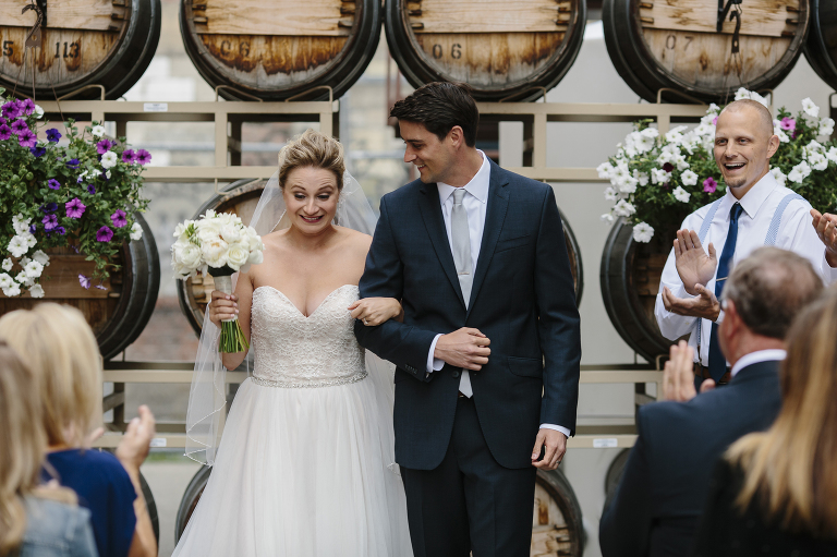 Barrister Winery Wedding Ceremony // Emily Wenzel Photography