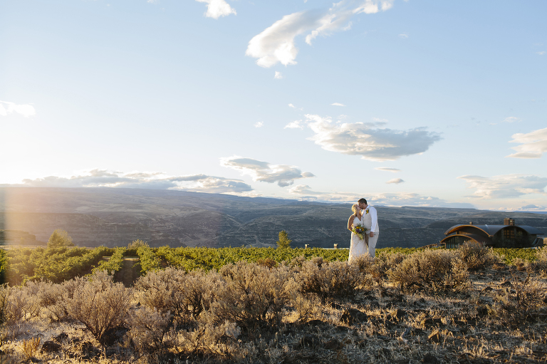 Cave B Winery Wedding Elopement // Emily Wenzel Photography