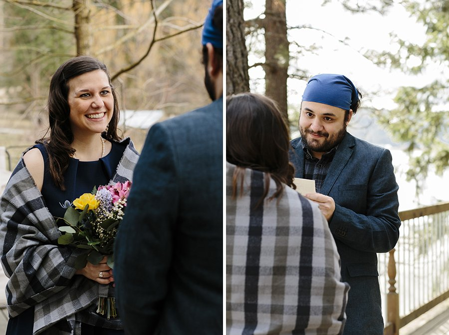 Winter Elopement Ideas // Emily Wenzel Photography