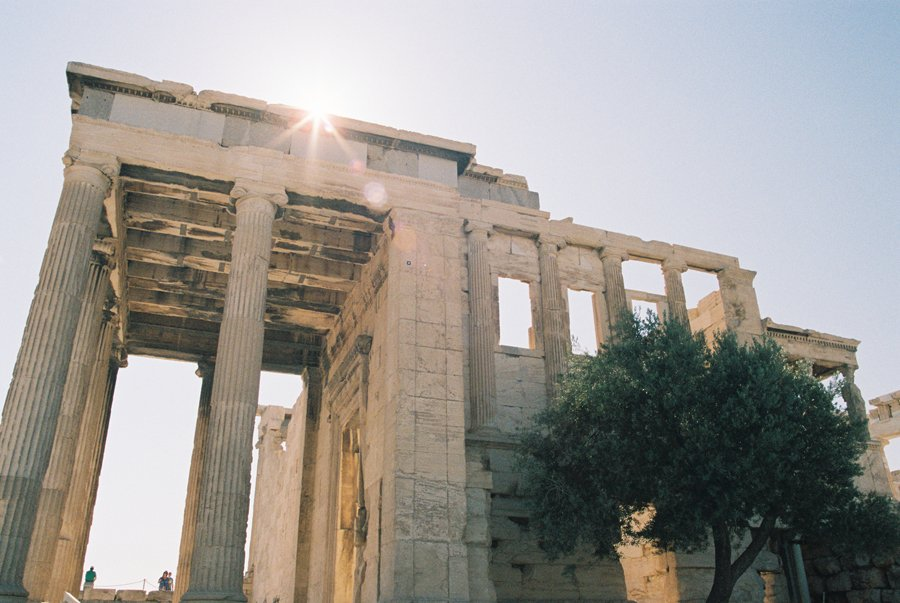 The Acropolis Athens // Travel Photography on Film