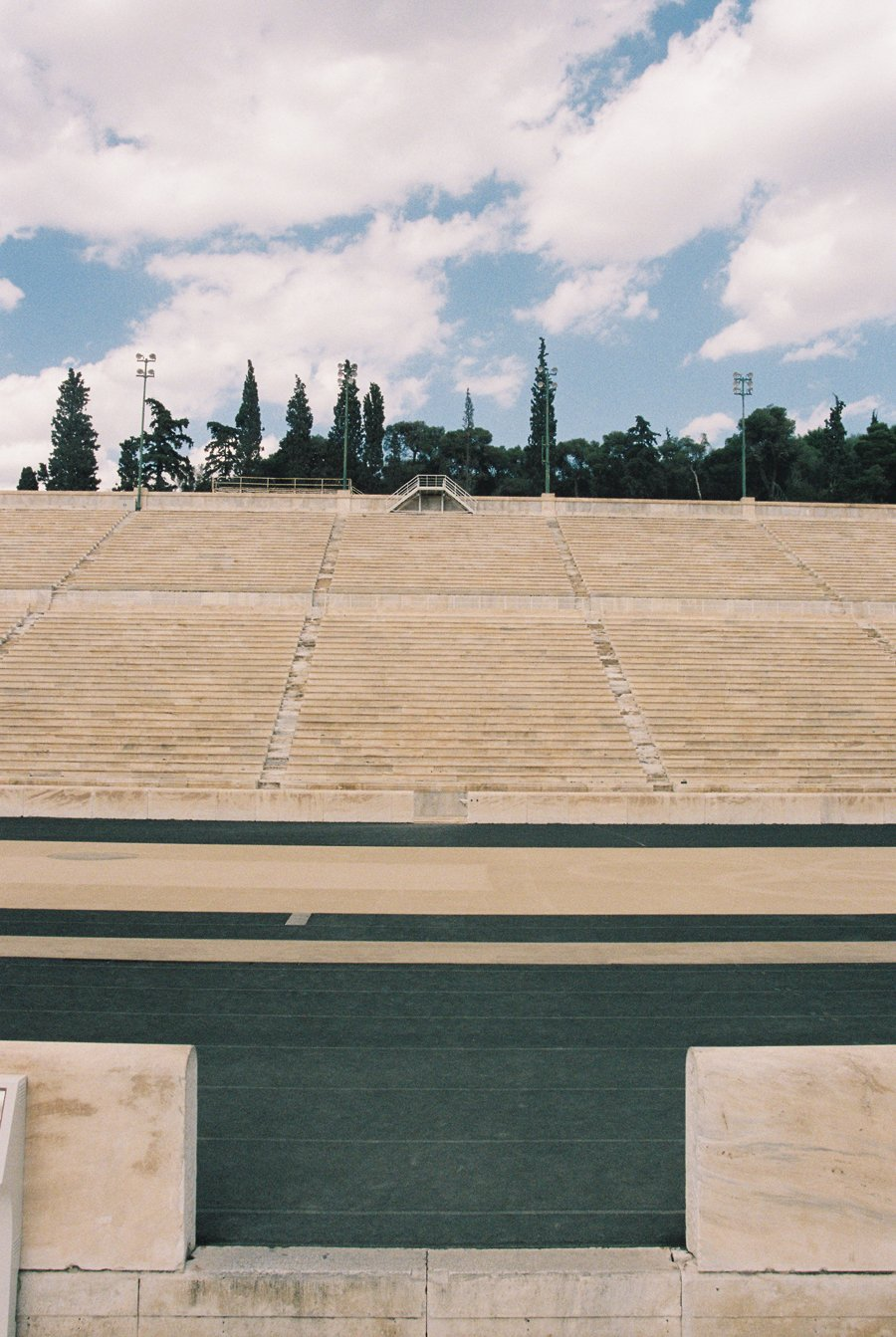 Athens Olympic Stadium // Travel Photography on Film
