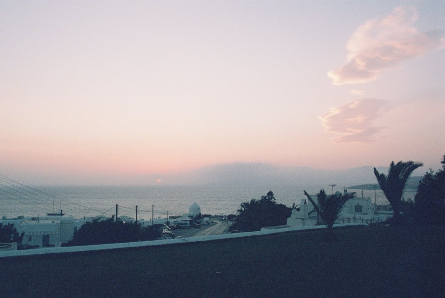 Visiting Mykonos -- Film Photos // Emily Wenzel Photography