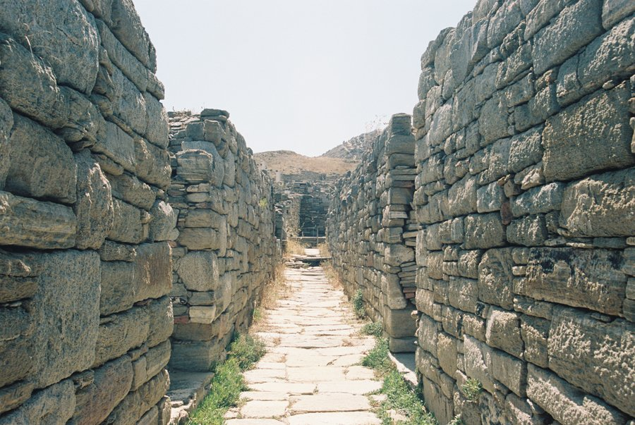 Delos Archaeological Site Greek Island // Emily Wenzel Photography