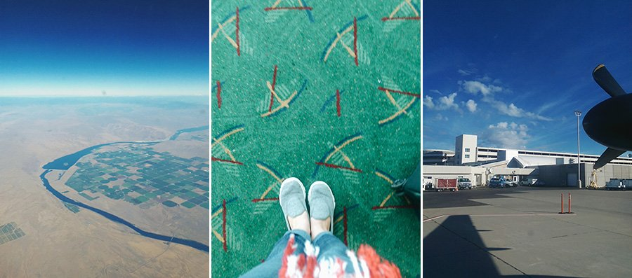Flying to Portland // Emily Wenzel Photography