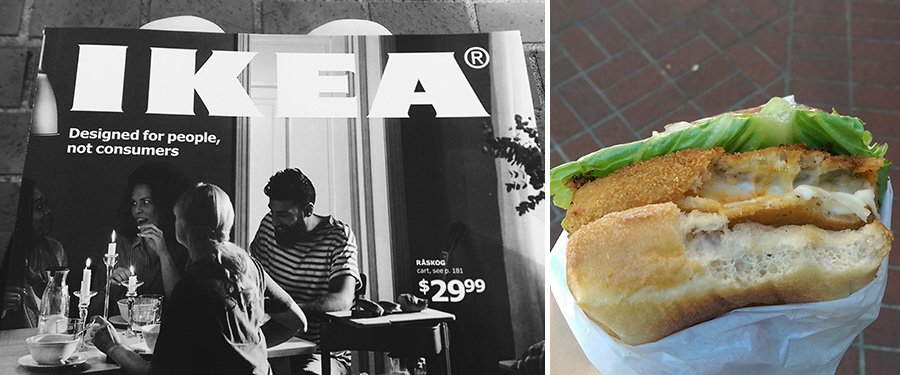Food Carts and IKEA Portland // Emily Wenzel Photography