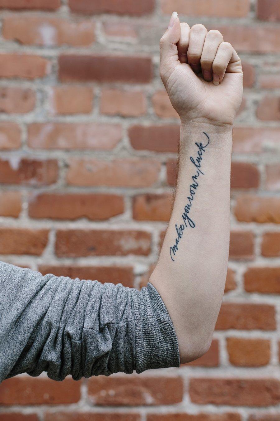 Spokane Tattoo Photographer // Emily Wenzel Photography