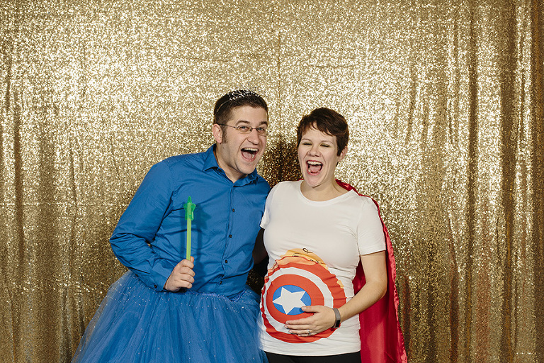 Captain America Maternity Costume // Emily Wenzel Photography